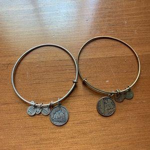 Alex & Ani Disney bracelets
